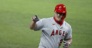 Mike Trout's power surge for Angels coincides with the birth of his son