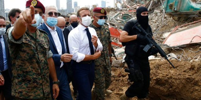 Macron warns Iran not to 'interfere' in Lebanese government shakeup