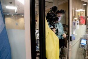 One I.C.U., Five Patients: A Different View of the Virus's Toll