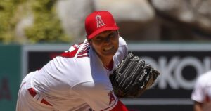 Shohei Ohtani will not pitch again for Angels this season