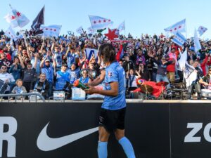 Red Stars supporters group, Chicago Local 134 doubles membership growing right alongside the NWSL