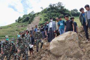 Dozens Are Feared Dead in Nepal Landslide