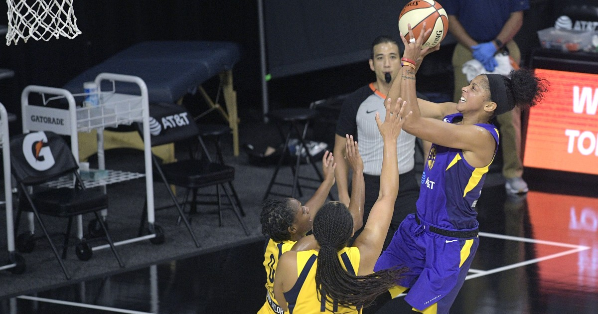Sparks' Candace Parker selected player of the week for West