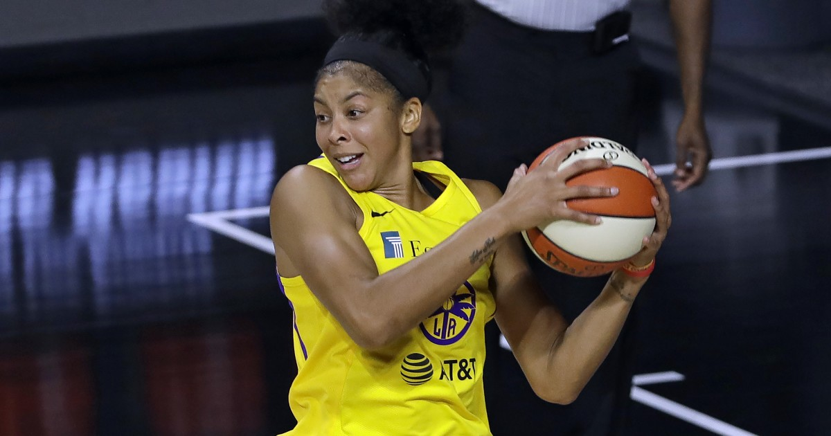 Candace Parker emerging as candidate for WNBA's top defensive player