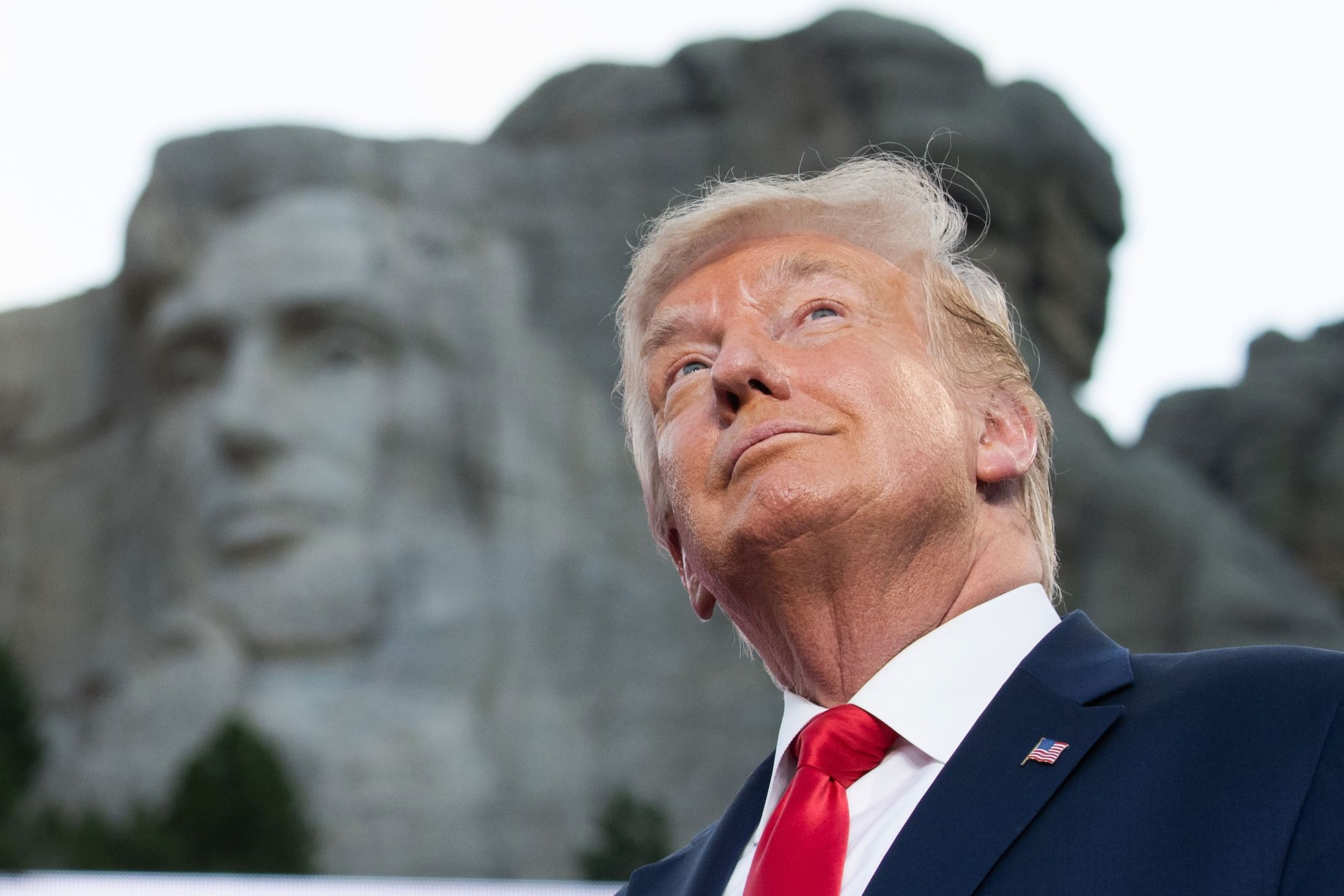 White House Asked if Trump Could Be Added to Mount Rushmore