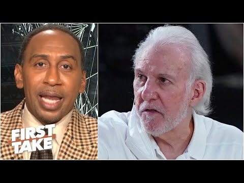 Stephen A. wants Gregg Popovich to be the Nets' next coach | First Take