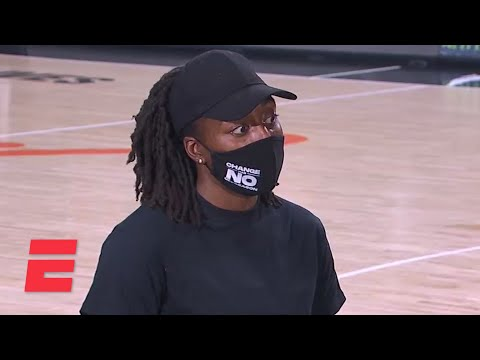 Nneka Ogwumike talks WNBA's decision to postpone Wednesday's games | ESPN