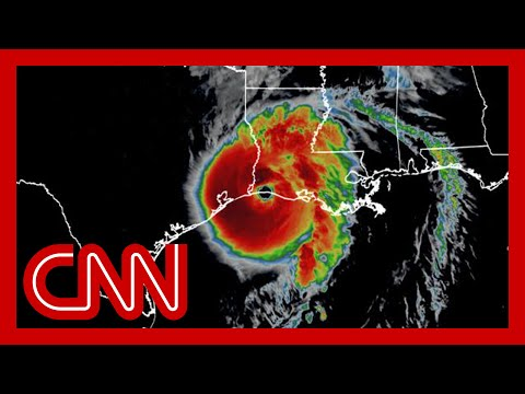 Hurricane Laura hits Louisiana coast as region's strongest storm in over a century