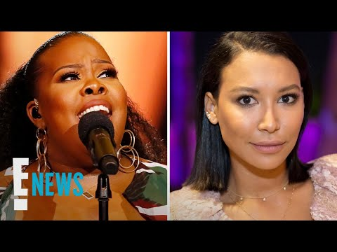 Amber Riley Performs Heartbreaking Tribute to Naya Rivera | E! News