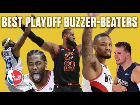 The best playoff buzzer-beaters of the past decade | NBA on ESPN