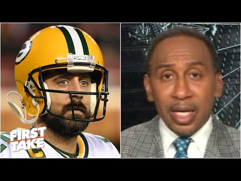 Is Aaron Rodgers still a top-3 QB? Stephen A. says no   First Take 1
