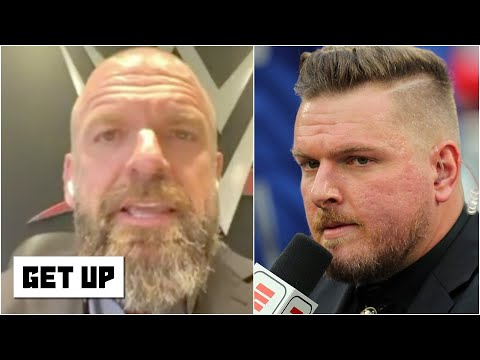 Triple H: Adam Cole is challenging Pat McAfee to a 1-on-1 match at WWE NXT TakeOver XXX | Get Up
