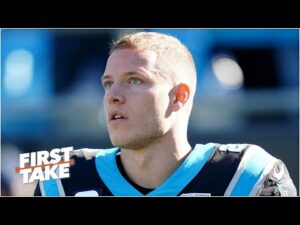 Where does Christian McCaffrey rank among the best non-QB NFL players? | First Take