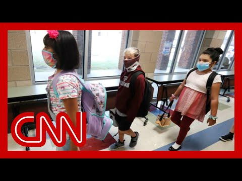 Coronavirus cases in children jump as they prepare to go back to school