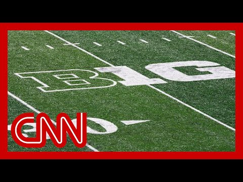 Big Ten conference won't play football this fall