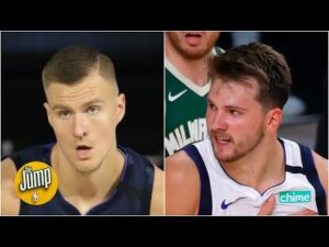 Luka Doncic and Kristaps Porzingis have been the NBA's best-scoring duo in the bubble | The Jump