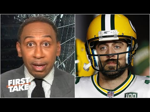 Stephen A. believes Aaron Rodgers' career will be a disappointment without another ring   First Take