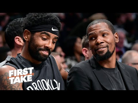 David Fizdale explains how Kevin Durant meshes with Kyrie Irving on the Nets | First Take
