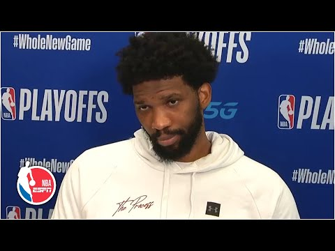 Joel Embiid frustrated, insists there is no issue with the Philadelphia 76ers | 2020 NBA Playoffs