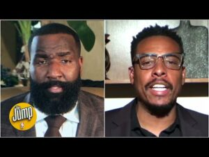Kendrick Perkins and Paul Pierce on NBA players standing for the anthem | The Jump