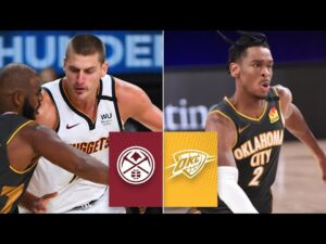 Denver Nuggets vs. Oklahoma City Thunder | 2019-20 NBA Highlights