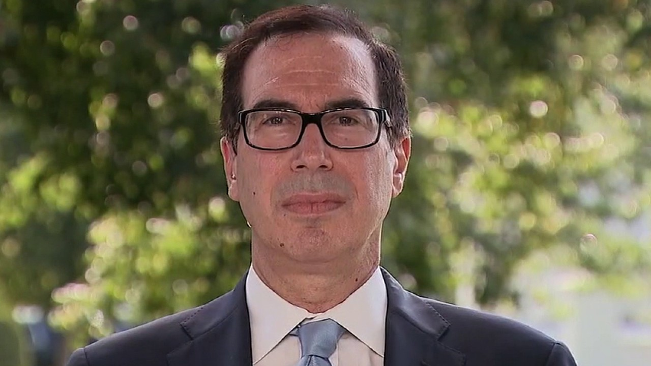 Mnuchin warns Democrats against challenging Trump's executive orders