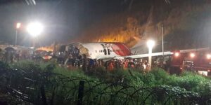 India flight's deadly runway skid likely due to low visibility, wet runway: expert