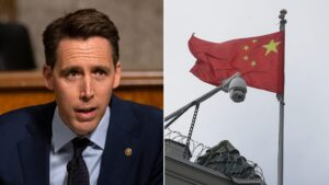Hawley responds to Chinese sanction, says Hong Kong raid should serve as 'wakeup call' for the free world