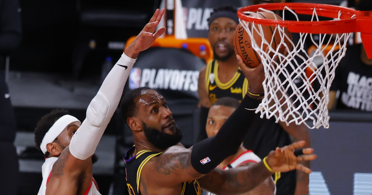 LeBron James and Lakers honor Kobe Bryant as they ruthlessly crush Trail Blazers