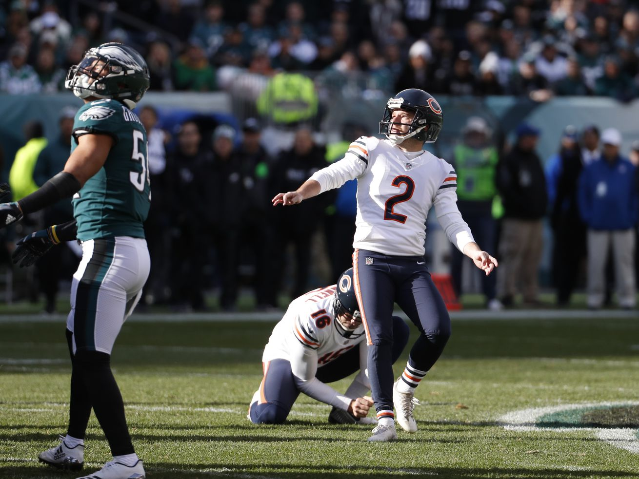 Bears bringing in kicking competition: report