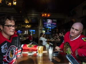 Blackhawks fans anxious for playoff hockey: 'We're playing with house money'