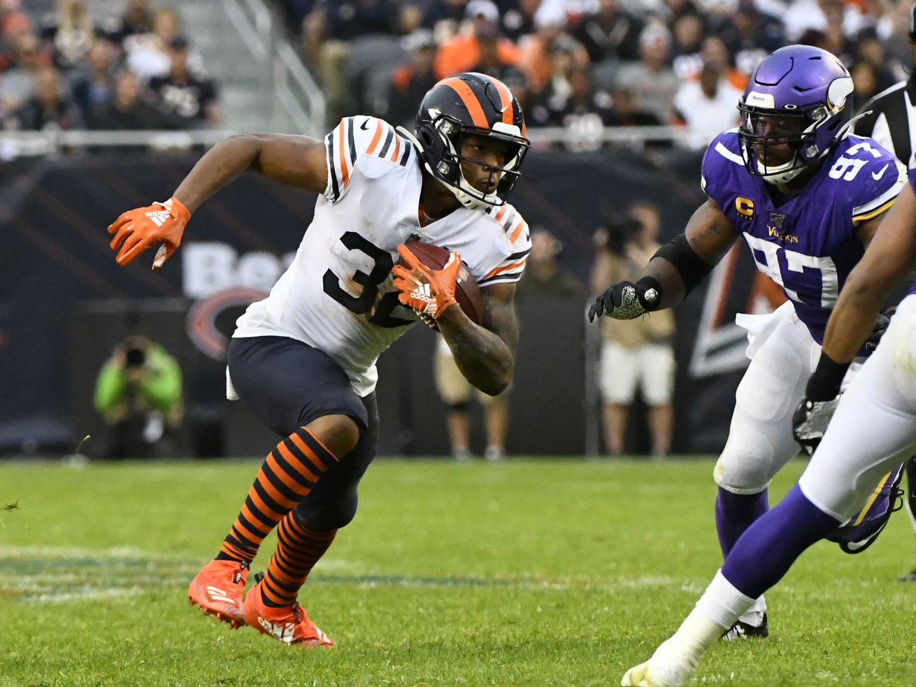 Bears RB David Montgomery in question for opener with 2-4-week injury: report