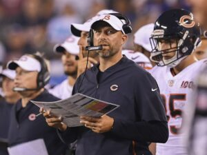 If anyone can navigate a season like 2020, it's Bears coach Matt Nagy