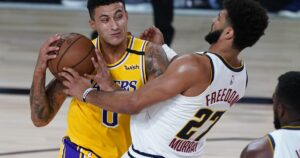Lakers teammates show how much faith they have in Kyle Kuzma