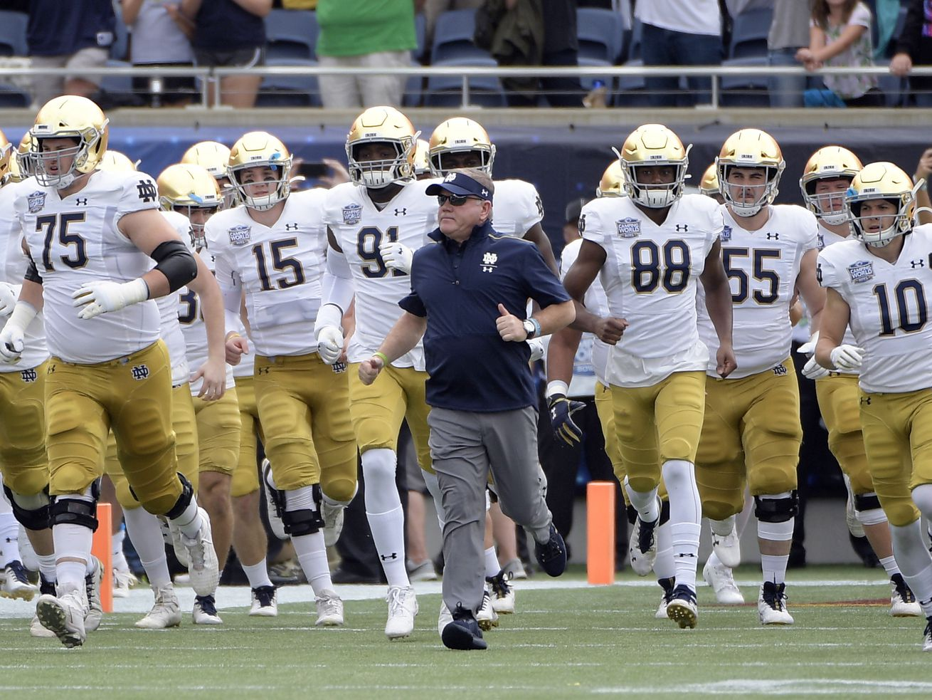 Notre Dame-Navy rivalry falls victim to new ACC football schedule