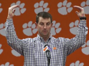 Clemson starts at No. 1, Notre Dame at No. 10  in preseason coaches poll