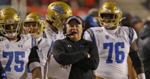 UCLA coach Chip Kelly tested positive for coronavirus early in the pandemic