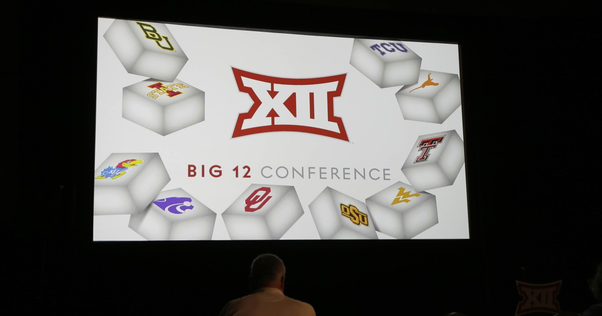 The Big 12 Conference says it will boldly go where the Pac-12 and Big Ten won't