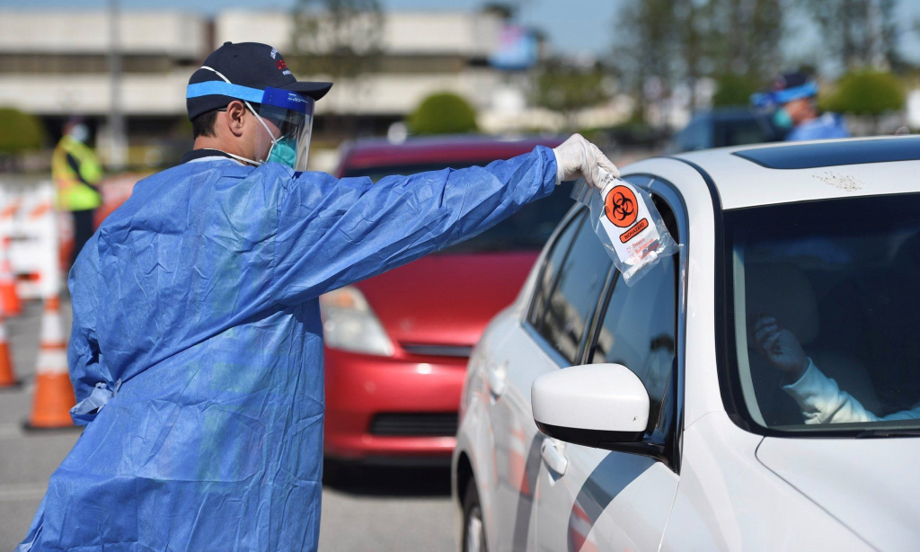 LA County continues to report falling coronavirus numbers