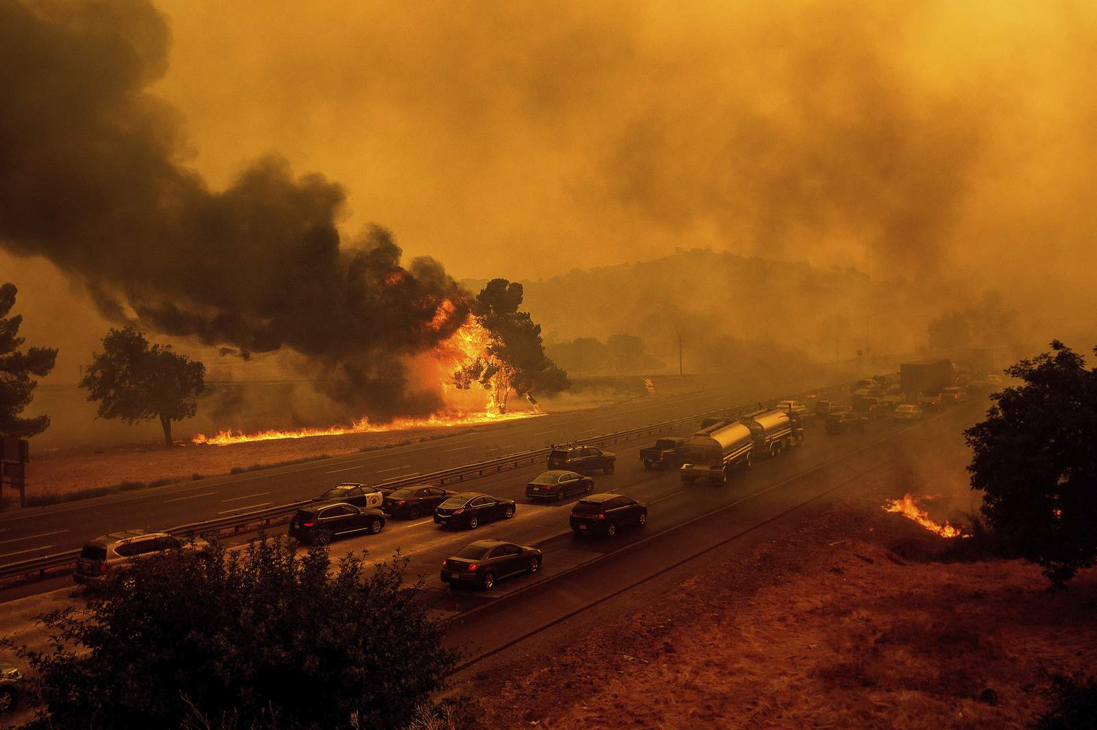 Some Californians didn't get evacuation alerts in wildfires