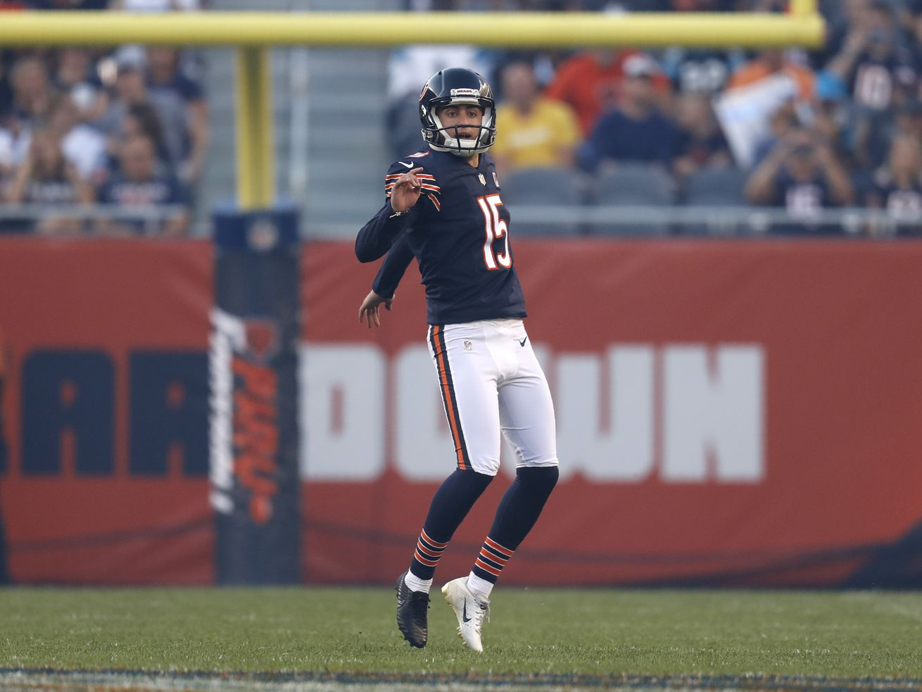 With Bears K Eddy Pineiro injured, Cairo Santos makes his case with perfect day