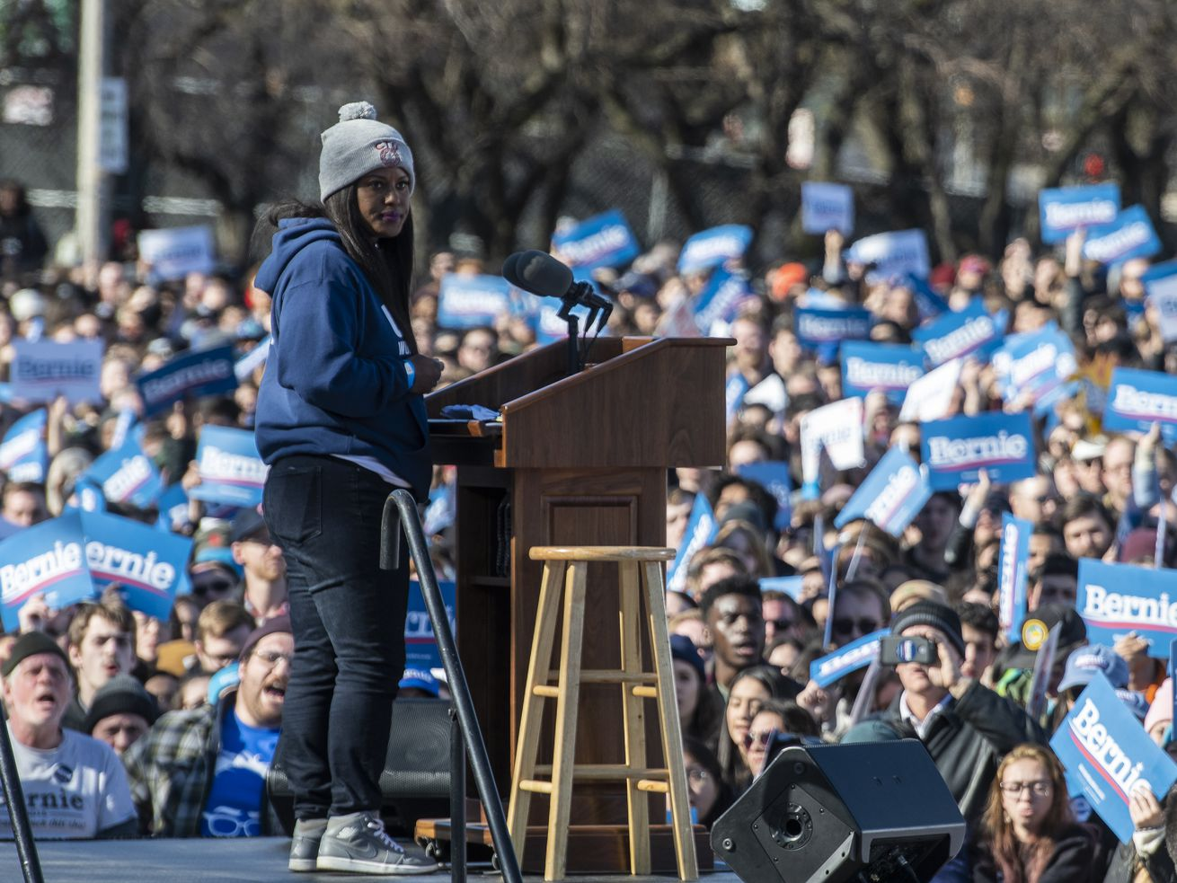Chicago 'lefties' still feelin' the Bern, but not looking to burn Biden — see Dem nominee as stepping-stone to progress