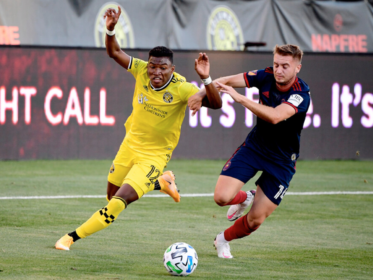Fire crushed by Crew in return to season