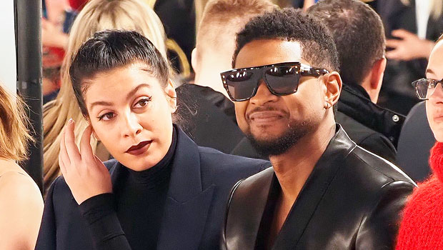 Usher & Pregnant Girlfriend Jenn Goicoechea Expecting Their 1st Child Together — See Baby Bump Pic