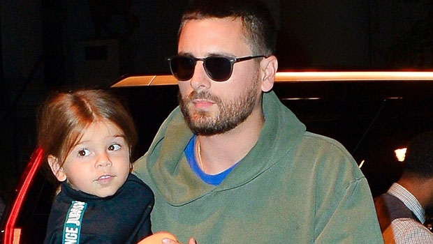 Scott Disick Cuddles With Adorable Son Reign, 5, As He Proudly Rocks His New Buzzcut — Pic
