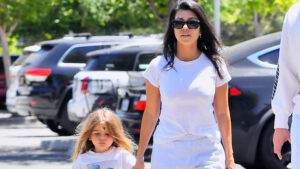 Kourtney Kardashian's Son Reign, 5, Gets His Long Hair Shaved Completely Off & She Admits 'I Am Not OK'