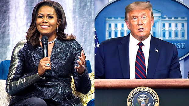 Michelle Obama Has 'Low-Grade Depression' Over Trump's Handling Of Pandemic – Listen