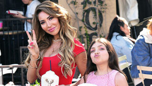 Farrah Abraham Defends Daughter Sophia, 11, From Trolls Shaming Her For Having Fake Nails