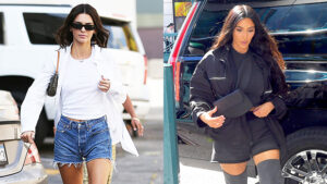 12 Times The KarJenners Looked Super Sexy In Short-Shorts: Kendall & More