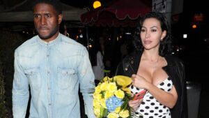 Reggie Bush's Kim Kardashian Lookalike Wife Lilit Stuns In Pink Tube Top During Double Date